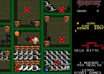 gauntlet arcade 1985