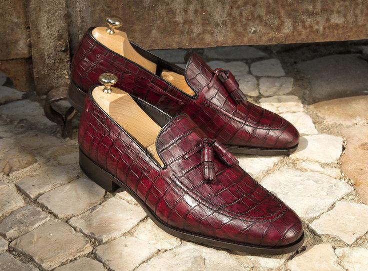loafer coco burdeos