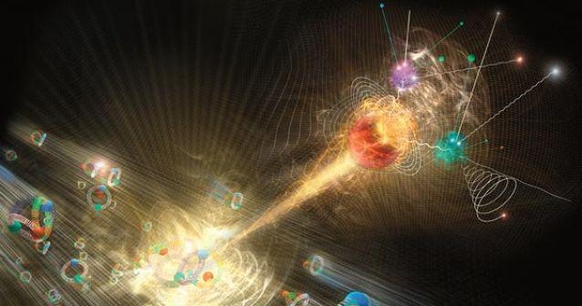 particula higgs boson universo
