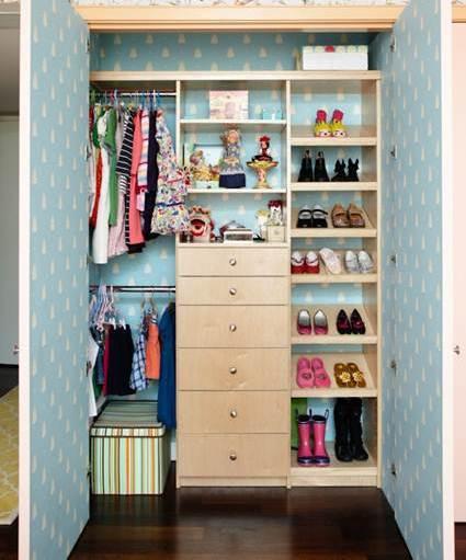 armario papel pintado