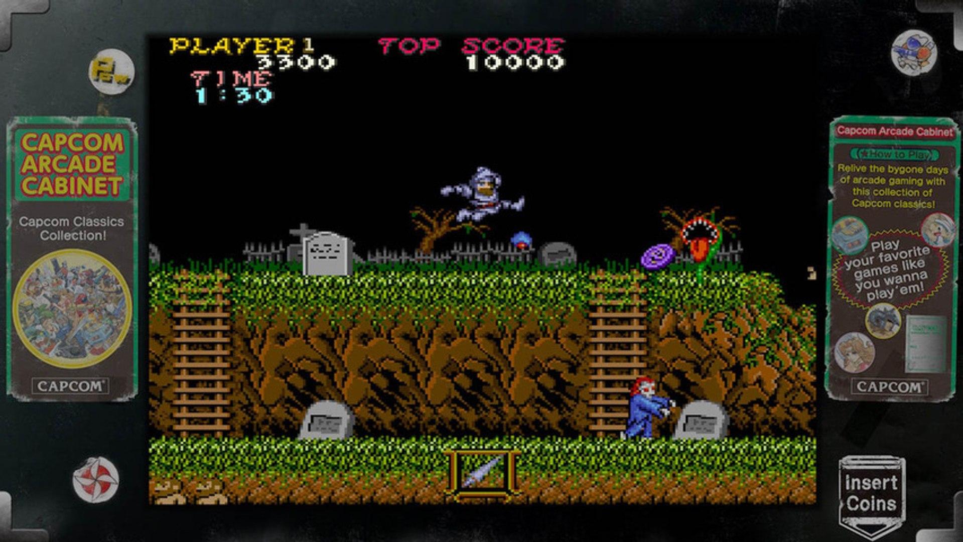ghosts n goblins 1985