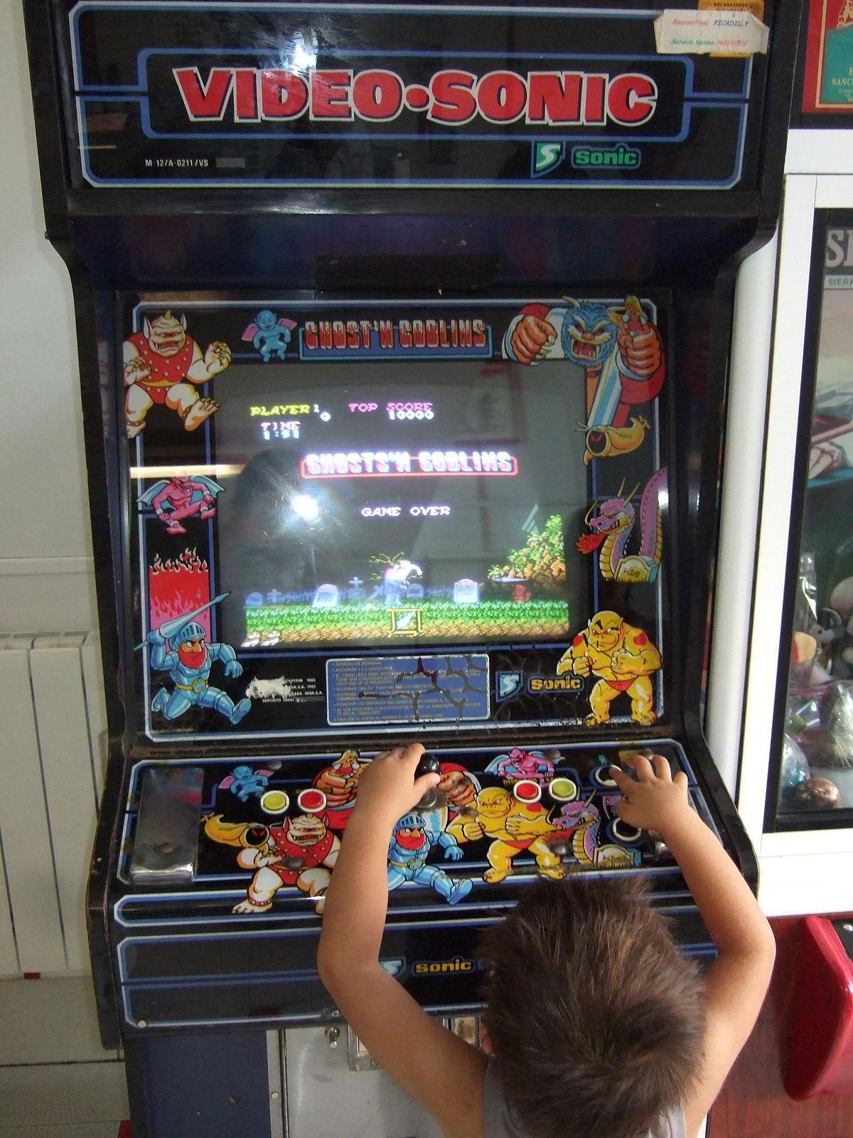 ghosts n goblins arcade