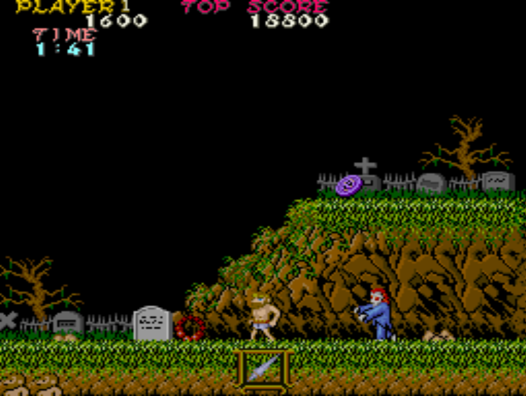ghosts n goblins juego