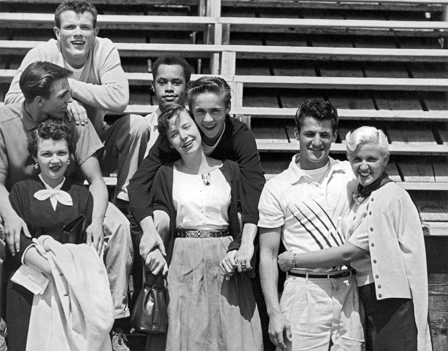adolescentes 1950 50s