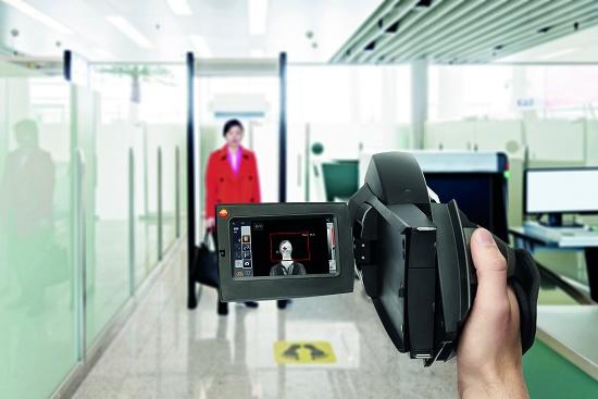 camara termografica infarroja aeropuerto