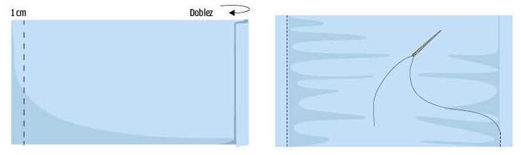 como hacer cubrebocas tela