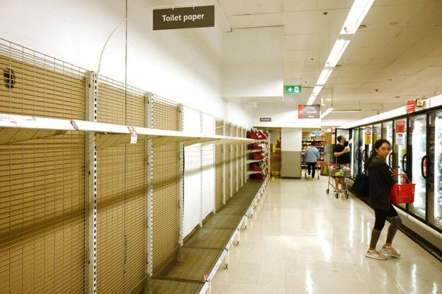 compra supermercados vacios coronavirus