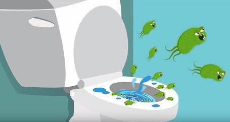 coronavirus covid 19 sars bano wc toilet