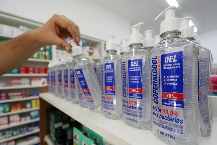 gel hidroalcolico desinfectante coronavirus