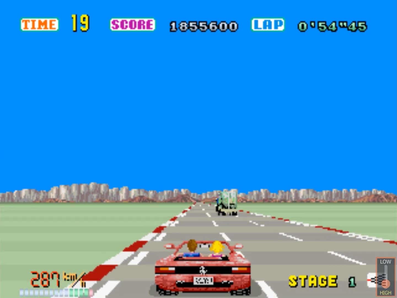 outrun arcade 1986 sega 007