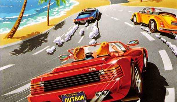 outrun arcade juego coches