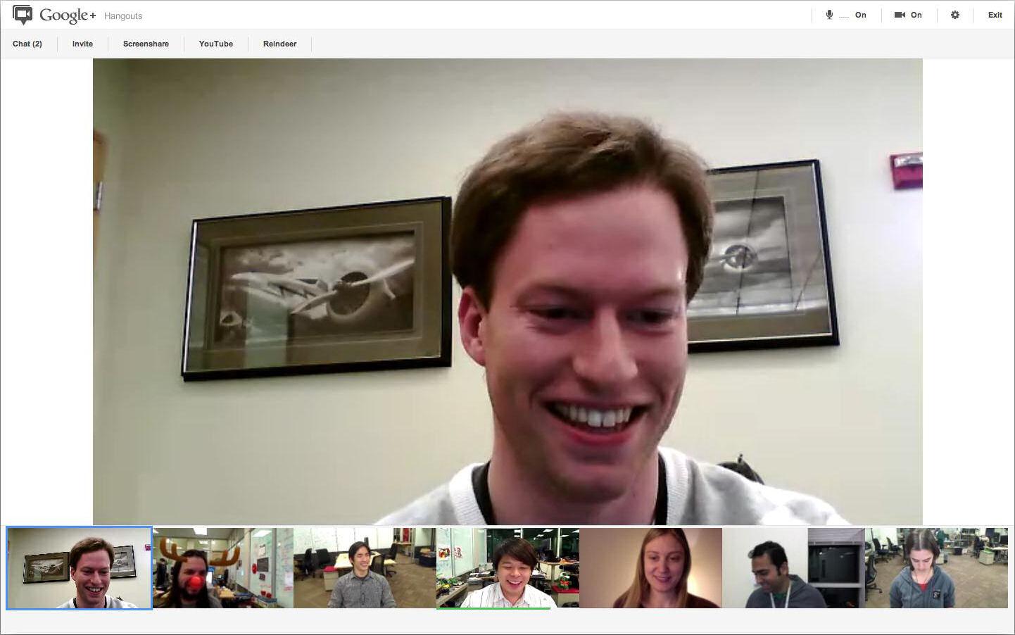 videollamadas grupo grupales google hangouts