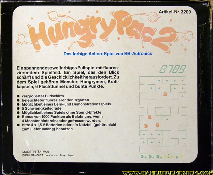 actronics hungry pac box