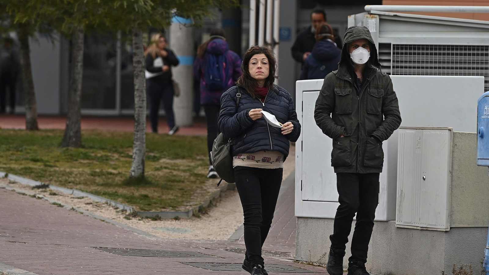 contagio coronavirus transmision calle aire