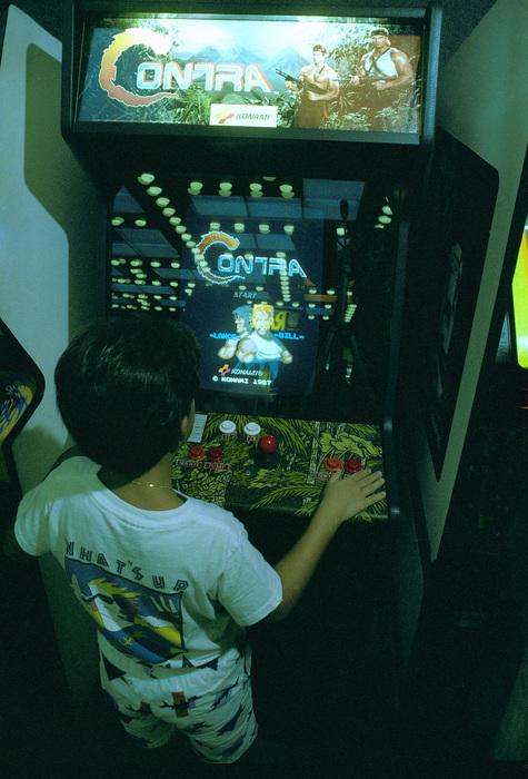 contra arcade