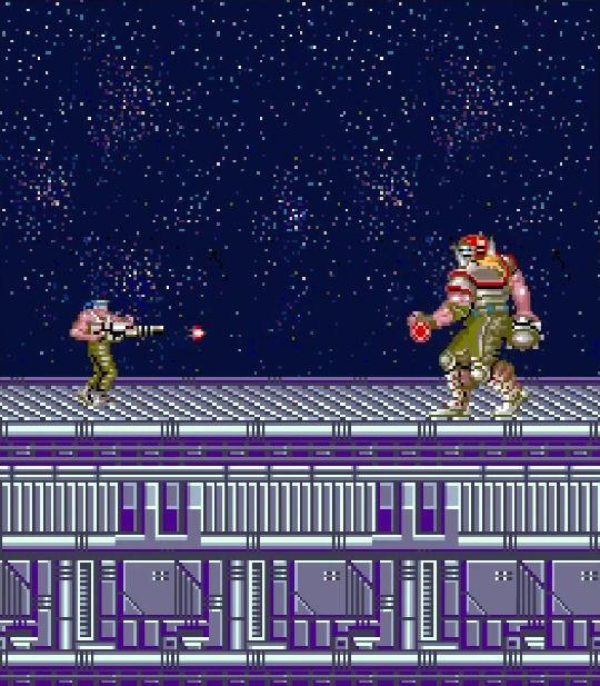 contra juego arcade 1987