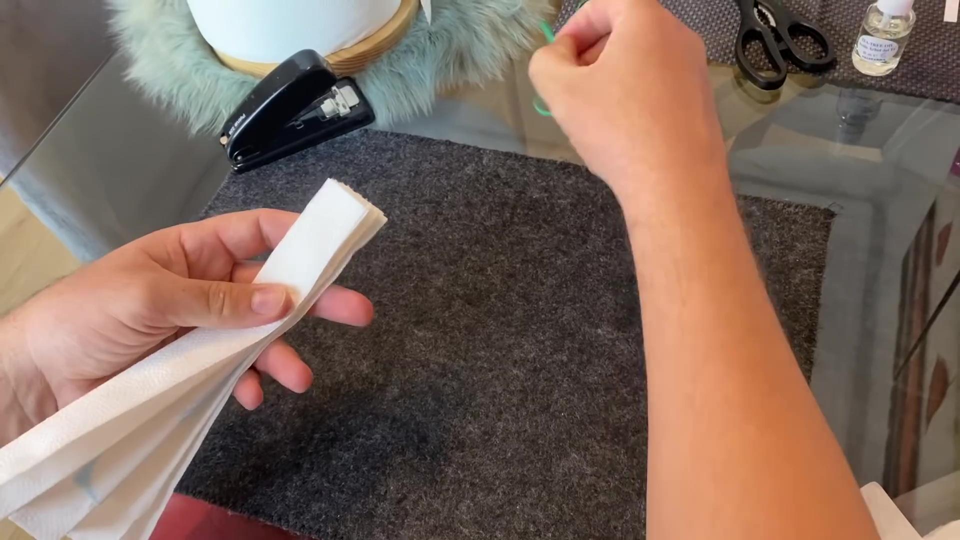 hacer barbijo coronavirus compresa