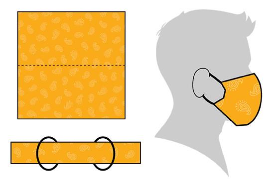 hacer mascarilla tela coronavirus sin coser