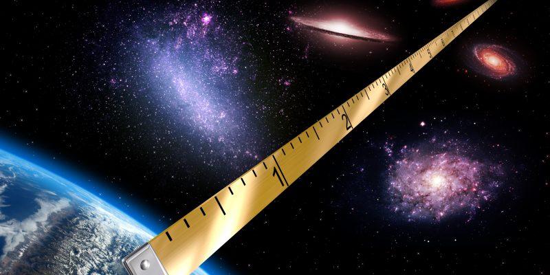magnitudes medidas universo