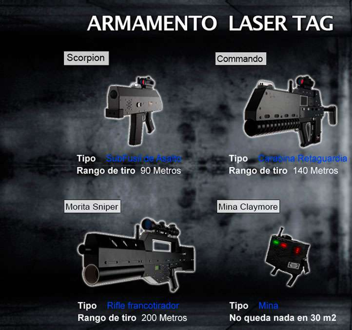 action live paintball madrid rifles