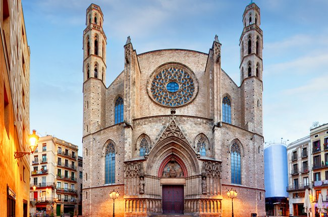 basilica santa maria del mar barcelona