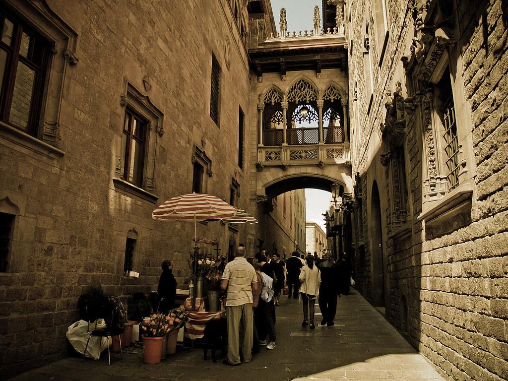 calle bisbe barcelona