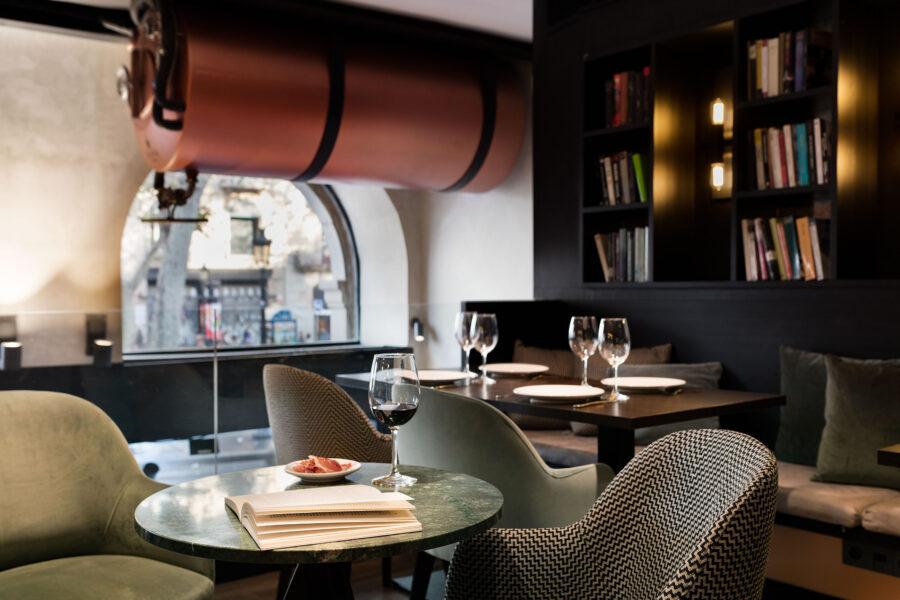 casa volver hotel ramblas barcelona restaurante