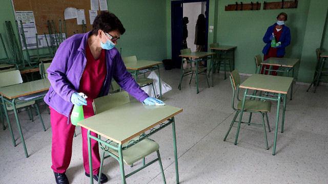 clases colegio coronavirus