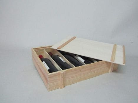 cajas madera vino