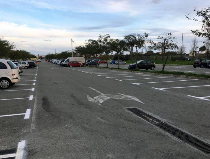 aparcamiento eventos