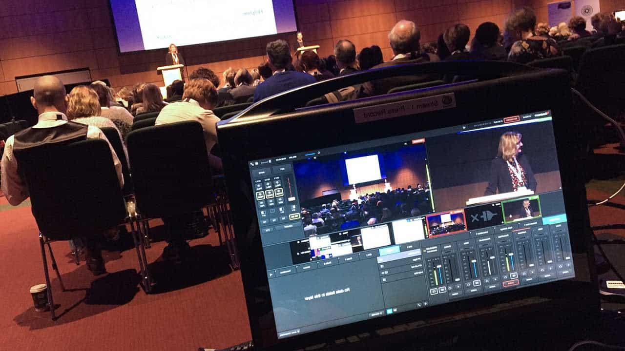 streaming eventos conferencia