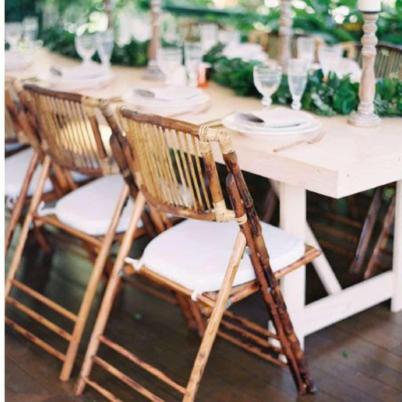 bambu silla boda