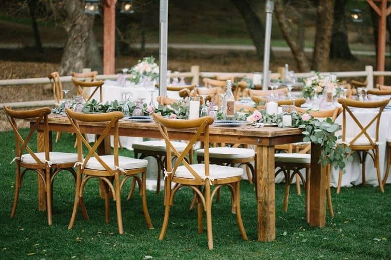 crossback silla boda