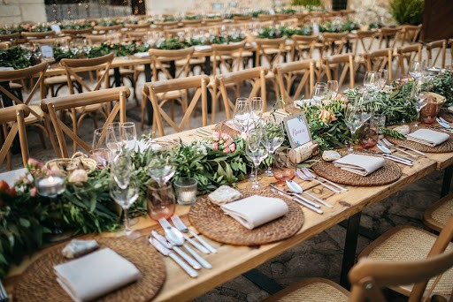 banquete boda mesas imperial