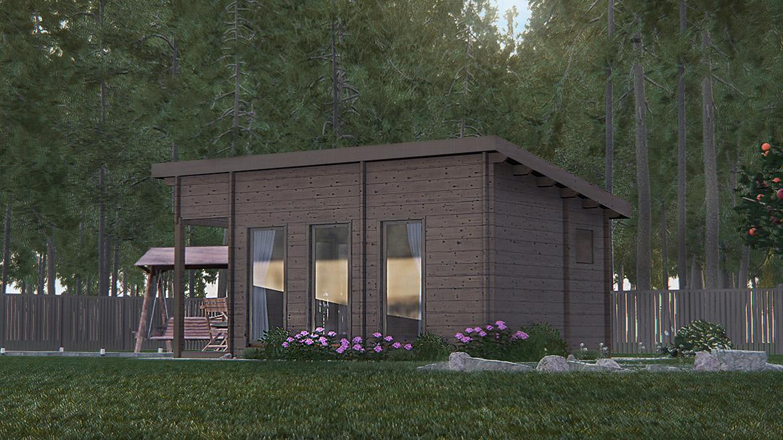 cabana madera